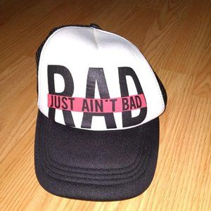 Black and Red RAD Hat